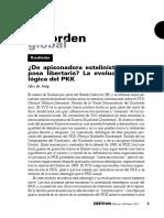 La Evolucion Ideologica Del PKK-2