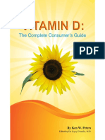 Vitamin D the Complete Consume Ken W Peters