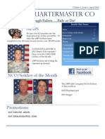 108th QM April FRG Newsletter