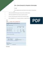 Flight Data Application Denner ABAP Trainning