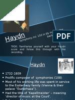 Haydn's Drum Roll Symphony