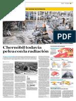 Chérnobil Todavía Pelea Con La Radiación