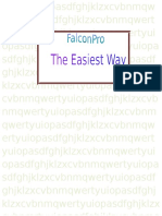 HOW TO USE THE FALCON PRO ACCOUNT SYSTEM THE EASIEST WAY.docx