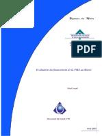 Evaluation Du Financement de La PME Au Maroc