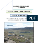 Estudio Hidrologico-iruro ayacucho