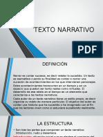 Texto Narrativo Ppoint 2016