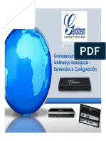 Grandstream GXW FXS FXO Gateways