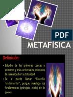 Diapos de Filosifia Metafisica