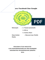 Facebook Dan Google