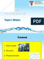Topic 1 Water (Part 1)