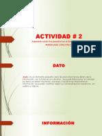 Actividad # 2 Maria Jose Gestion docuemental