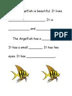 The Angelfish is Beautiful