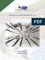 canas e as suas caracteristicas v03.pdf