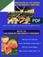 Sanidad y Nutrición Crecimiento y Engorde del cerdo