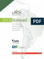 2013 LAVCA Scorecard