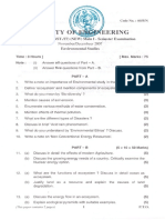 4055N - Environmental Studies (Sem - I)(Main)
