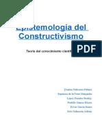 Epistemología Del Constructivismo