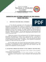 fire drill report essay