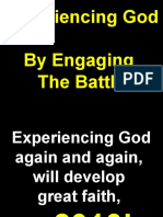 02-21-2010 Experiencing God by Engaging the Battle