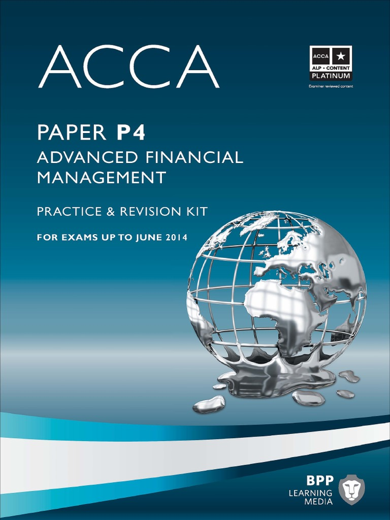 Acca Bpp Practice & Revision Kit   Valuation (Finance)   Mergers And