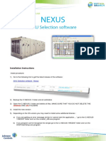 NEXUS Intallation Instructions