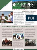 Harbor Shores Kemper Sports Newsletter Fall 2007