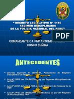 Exposicion Decreto leg. 1150