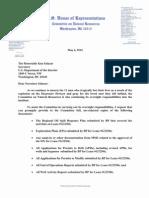 Rahall Letter 2