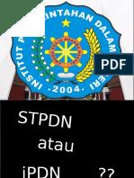 bahan Sosialisasi IPDN