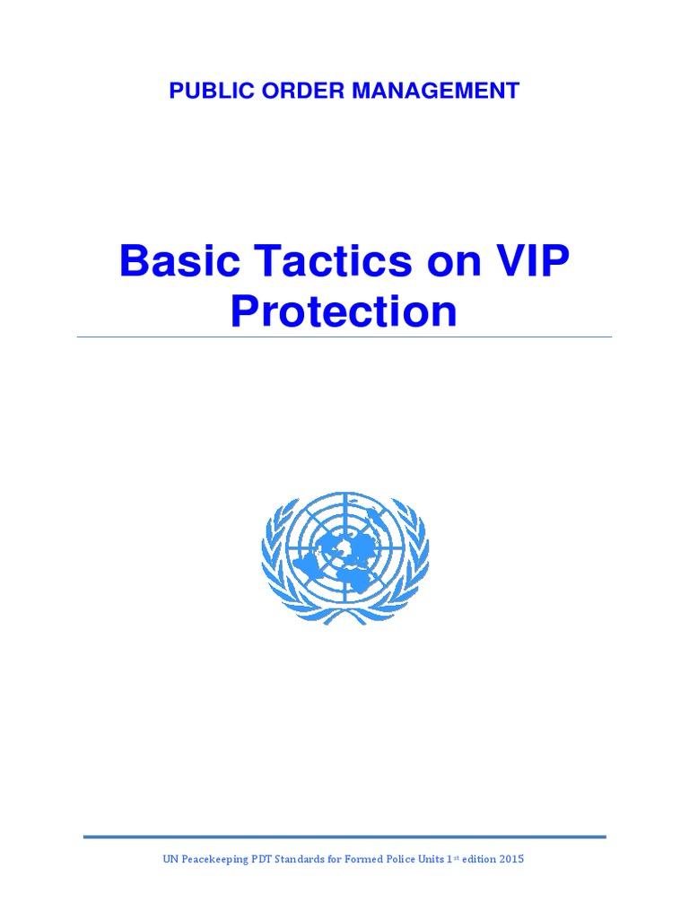 basic tactics on vip protection pdf bodyguard peacekeeping rh scribd com vip close protection training manual pdf vip protection manual pdf