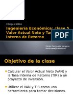 Ie- Clase 5- Van y Tir
