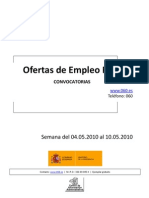 Empleo Público_del 4 al 10 de Mayo