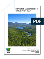 Ecological Composition and Condition of the Boreas Tract,