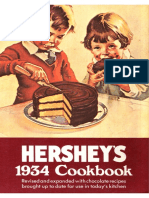 Hershey's 1934 Cookbook