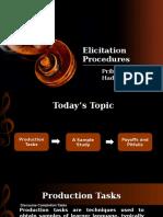 Elicitation Procedures