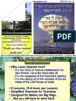 Biblical Hebrew Grammar Presentation