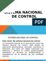 Sistema Nacional de Control 22 Marzo