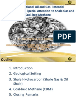 Unconventional Oil and Gas Potential