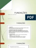 Fundações Aula