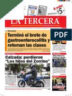Diario La Tercera 25.04.2016