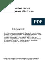 Elementos de Las Instalaciones Electricas
