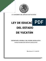 LEY ESTADO DE YUCATAN
