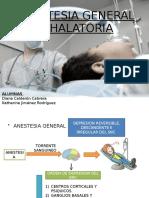 Anestesia General Inhalatoria