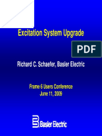 Basler Elect Excitation System Upgrade Frame6UG09