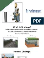 above ground drainage