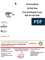 2016 Santa Fe Run Around_Race Flyer