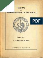 Libro hospital de nutrición, Rafael Zubirán