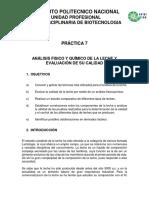 8 Practica 7 Analisis de La Leche