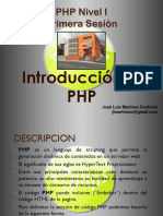 Sesion 01a - PHP Nivel I