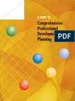 a guide to comprehensive pd planning